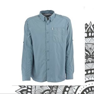 White Sierra Insect Shield Button Up Long Sleeve